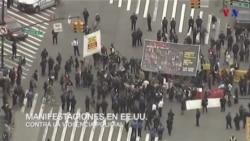 Manifestaciones contra violencia policial en EE.UU.