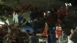 中國一用於檢疫隔離酒店倒塌 6死28失蹤
