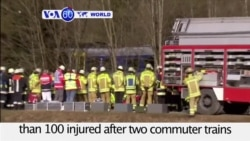 VOA60 World- At Least 9 Dead in German Train Crash