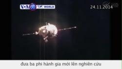 Phi thuyền Soyuz cập cảng thành công tại Trạm Không gian Quốc tế (VOA60)