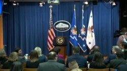 Live: Генпрокурор США об итогах «российского расследования»