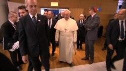 Papa ante Europarlamento