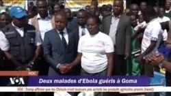 Deux malades d'Ebola guéris à Goma