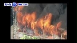Cháy lớn tại chung cư ở San Francisco