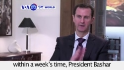 VOA60 World PM - Syria Agreement Already Facing Tests