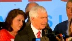 2014-06-25 美國之音視頻新聞: 美國資深共和黨參議員險勝茶黨對手
