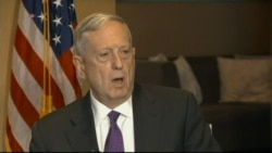 Mattis on Anti-IS Operation in West Mosul