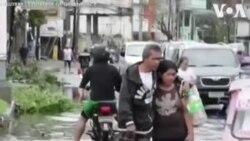 Ֆիլիպիններ. Քաղաքը մաքրում են թայֆունից հետո