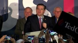 In Iowa Caucuses, Republican Cruz Wins; Democrats Clinton, Sanders Tied
