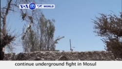 VOA60 World - Iraq: IS and Iraqi forces continue underground fight in Mosul