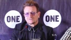 UN Ambassador and Irish Rock Star in Nigeria Promising to Help