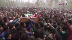 بھارتی کشمیر میں سیکیورٹی فورسز کے خلاف مظاہرے