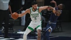 Boston Celtic yaichapa Denver Nuggets105 - 87