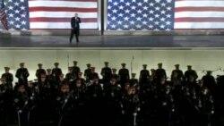 Избранный президент США Дональд Трамп выступил в четверг на инаугурационном концерте