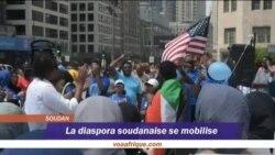 La diaspora soudanaise se mobilise
