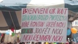 Ayiti: Brigad Pwoteksyon Minè ak Lapolis Vle Panse ak Timoun nan Lari yo