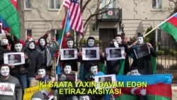 Vaşinqtonda maskalı anti-Əliyev aksiyası