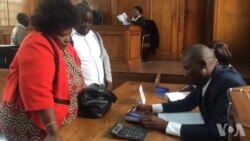 Submitting Thokozani Khupe's Presidential Nomination Papers ...