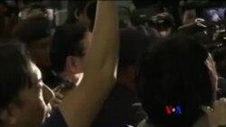 被驅逐的北韓駐馬來西亞大使姜哲已乘車離開(粵語)