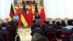 2016-06-13 美國之音視頻新聞: 德中政府磋商市場經濟地位與非政府組織活動