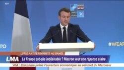 La France rejette des visées néocoloniales dans le Sahel