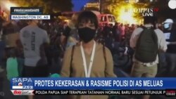 Laporan Langsung VOA untuk Sapa Indonesia Pagi Kompas TV : Aksi Protes atas Kematian George Floyd di Indonesia