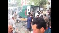 2015-04-19 美國之音視頻新聞:阿富汗總統譴責東部自殺炸彈襲擊