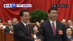 Ông Tập Cận Bình chính thức trở thành Chủ tịch Trung Quốc (VOA60)