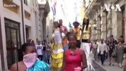 古巴表示目前不禁止外国游客
