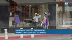 Los Angeles'ta Maske Karşıtlarına Sert Yaptırımlar