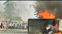 2013-11-12 美國之音視頻新聞: 柬埔寨紡織工人示威演變成暴力衝突