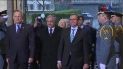 Rum ve Türk LiderlerKıbrıs'ın Birleşmesi İçin Cenevre'de Yeniden Müzakerelere başladı