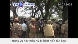 Bắt nghi can vụ hai thiếu nữ Ấn Độ bị cưỡng hiếp và treo cổ (VOA60)