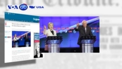 Bà Clinton, ông Sanders tiếp tục công kích nhau (VOA60)