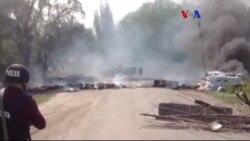 Ukrayna'nın Doğusunda Gerginlik Sürüyor