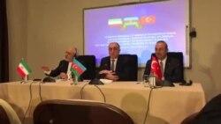 Azərbaycan, İran və Türkiyə xarici işlər nazirləri birgə bəyannamə qəbul edib