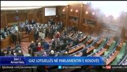 Gazi lotsjelles ne parlamentin e Kosoves