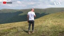 Американець поділився враженнями від Українських Карпат. Відео
