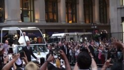 Pope Francis Blesses Faithful in NYC
