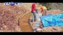 Hàng triệu gallon hoá chất bị vô tình làm đổ xuống sông Animas (VOA60)