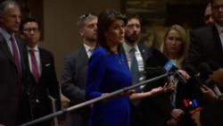 2018-11-09 美國之音視頻新聞: 美駐聯合國大使稱北韓推遲了美朝會談