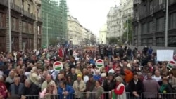 Hungary Protest