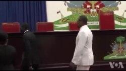Ayiti: Premye Minis Nome Jean Henry Céant Envite pou l Vin Prezante Politik Jeneral li nan Sena