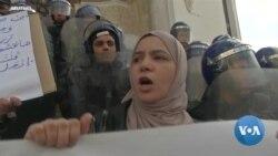 Women Run Grave Risks Fighting for Change in Egypt, Sudan, Algeria
