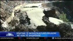 Përmbytjet dëmtojnë infrastrukturën e veriut të Shqipërisë