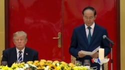 Diễn văn của Chủ tịch nước tại quốc yến chiêu đãi TT Trump