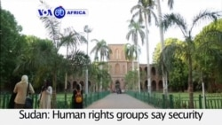 VOA60 Africa - Sudan: Security officials have detained dozens of students