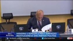 Haradinaj dorëzon letrën e dorëheqjes