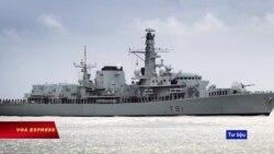 Tàu chiến Anh hướng về Biển Đông
