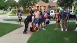 US Police Confrontation